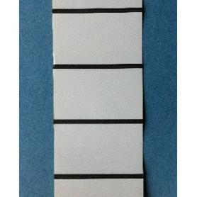68x38 mm Etichette cartoncino Vellum per frontalini