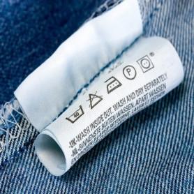 Poliestere mm 30X200 Mt per stampa etichette composizioni tessile