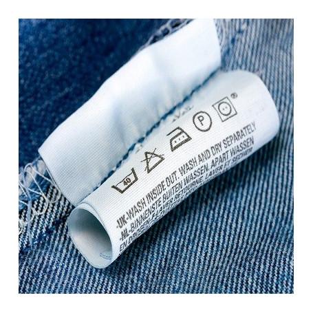 Poliestere mm 30X200 Mt per etichette composizioni tessile Confez 5 rotoli