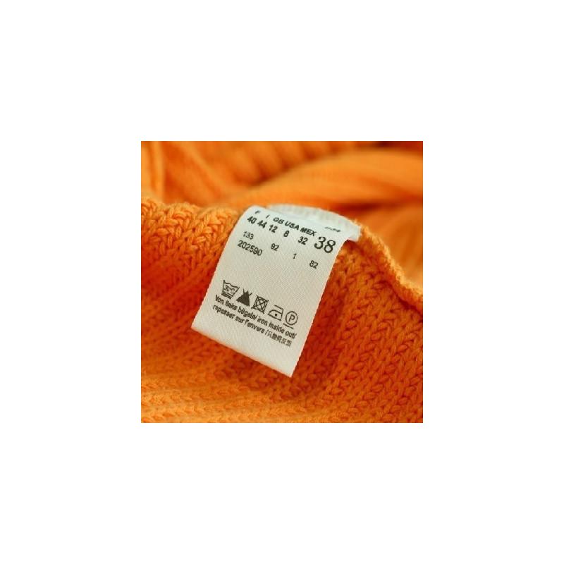 Poliammide mm 35X80 Mt per stampa etichette composizioni tessile