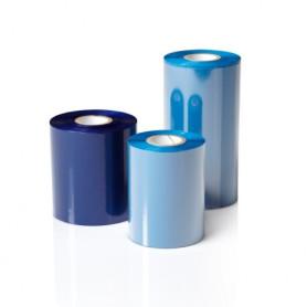 RIBBON mm 40x360 mt CERA resina BLU Ink OUT