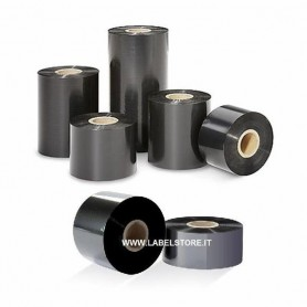 RIBBON mm 110x300 mt CERA RESINA Ink OUT - 1 pz