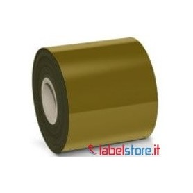 Ribbon Oro mm 80x250 Mt Cera Resina ink OUT