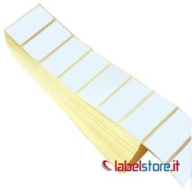 50x30 mm Etichette termiche FANFOULD da 2000 pz a pacchetto