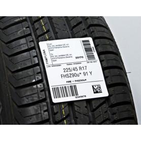 Etichette TYRE bianco per pneumatici