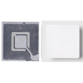 "Etichetta adesiva cm 3x3 disattivabile ""EP"" per antitaccheggio radiofrequenza"