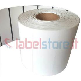 100x38 mm Etichette cartoncino TERMICO BIANCO per frontalini e cartellini