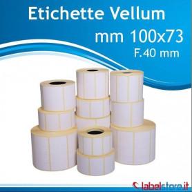 100x73 mm etichette adesive VELLUM