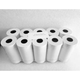 101x30 mt f 18 Rot carta termica per stampanti portatili - 10 rotoli