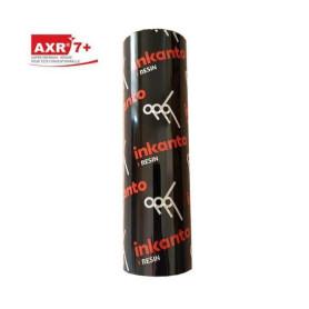 Ribbon RESINA 110x74 Mt nero AXR7 trasferimento termico