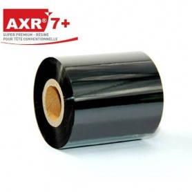 Ribbon nero RESINA AXR7+ mm 60x300 mt nero ink out