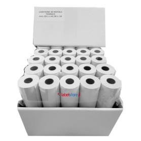 101x30 mt f 18 Rot carta termica per stampanti portatili