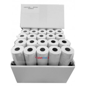 76x20 mt Rotolo carta termica per stampanti portatili Zebra