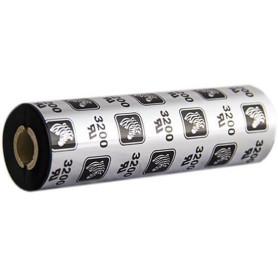 Ribbon Zebra mm 110x74 mt CERA RESINA 3200 trasferimento termico