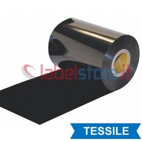 Ribbon 75x200 mt Resina Tessile Ricoh D110A per trasferimento termico
