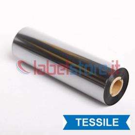 Ribbon 110X74 Mt RESINA D110A nero alta qualità di stampa anche tessile