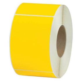 80x120 mm Rotolo etichette adesive VELLUM GIALLO