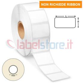 41x23 mm Rotolo etichette TERMICHE adesive neutre stampabili 2500 pz