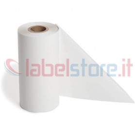 Ribbon BIANCO mm 110x300 Mt Cera Resina per stampanti trasferimento termico ink out