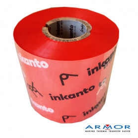Ribbon ROSSO mm 60x300 Mt Cera Resina APR558R Inkanto ink OUT