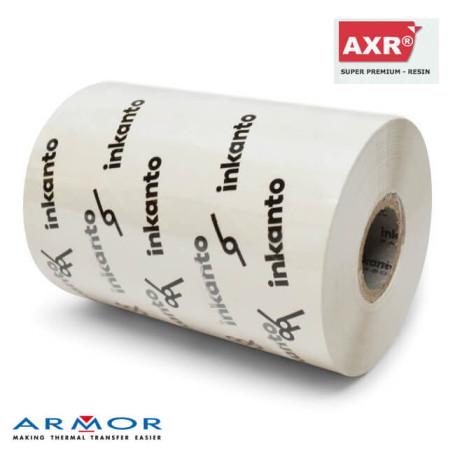 Ribbon 110x300 mt RESINA BIANCO AXR600w Inkanto ink Out