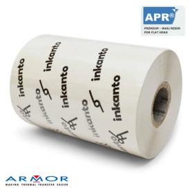 Ribbon BIANCO 110x300 mt Cera Resina Premium APR5W inkanto alta qualità