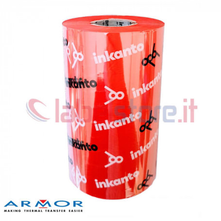 Ribbon ROSSO mm 110x300 Mt Cera Resina Red APR558R Inkanto ink OUT