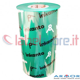 Ribbon colorato VERDE mm 110x300 Mt Cera Resina green APR558B Inkanto ink OUT