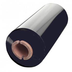 Ribbon 110x300 mt CERA RESINA alta qualità INK OUT per stampa trasferimento termico