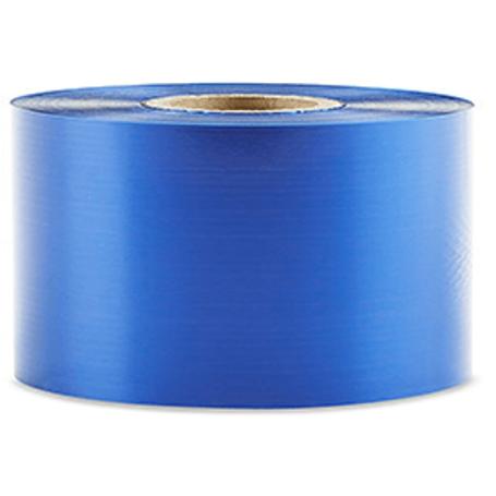 Ribbon colorato BLU 40x360 mt CERA RESINA per stampante trasferimento termico