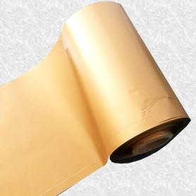 Ribbon Zebra 110x300 Mt ORO GOLD Cera per stampanti trasferimento termico ink out