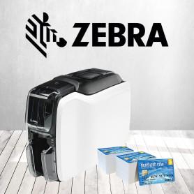 Stampante Zebra ZC100 Usb per stampa card e tessere