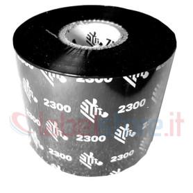 Ribbon ZEBRA 60x450 mt CERA 2300 trasferimento termico di qualità 1 pz