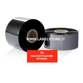 Ribbon 60x300 mt CERA nero standard ink IN per stampa a trasferimento termico