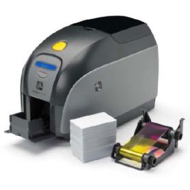 Stampante di card Zebra ZXP1 solo fronte Ethernet, USB