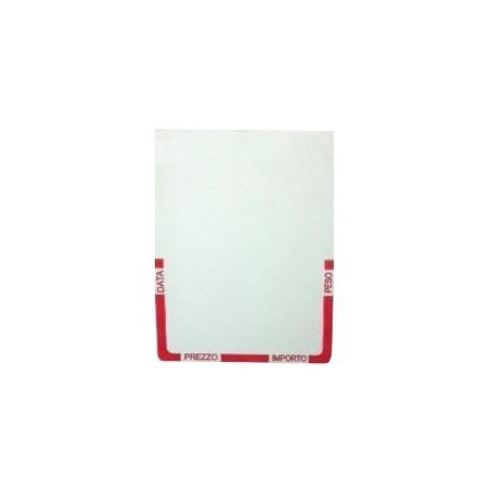 47x61 mm etichette termiche Prestampato da 700 pz  - Conf. 25 rotoli