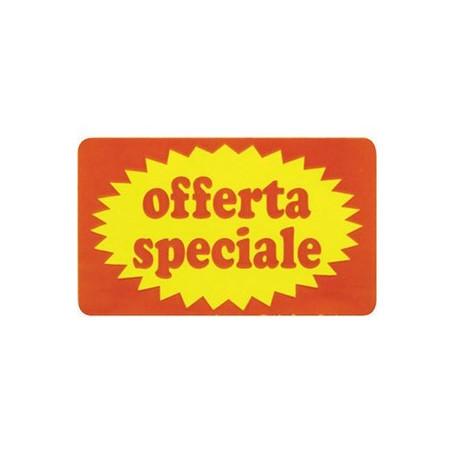 50X30 mm  etichette stampate OFFERTA SPECIALE rettangolare - Conf. 10 rotoli