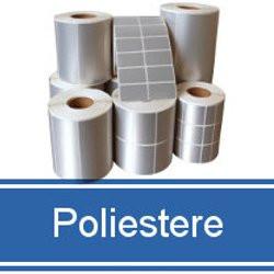 Etichette in Poliestere Argento | Labelstore